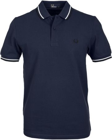 Fred Perry Polo Dunkelblau F66