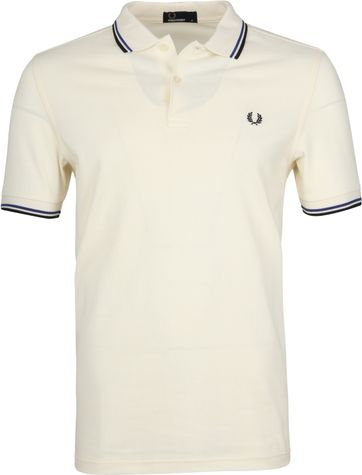 Fred Perry Polo Ecru H31