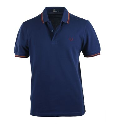 Fred Perry Polo French Blue 215
