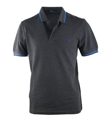 Detail Fred Perry Polo Graphite D99