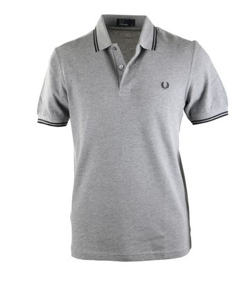 Fred Perry Polo Grijs 203