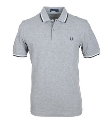 Fred Perry Polo Grijs 420
