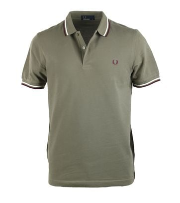 Fred Perry Polo Groen 225