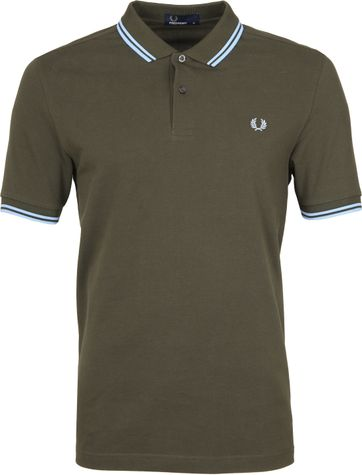 Fred Perry Polo Groen 617