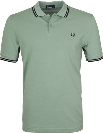 Fred Perry Polo Groen I10