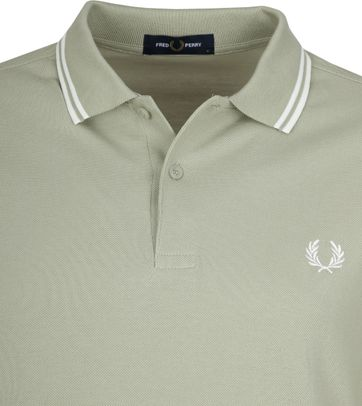Fred Perry Polo Groen J84