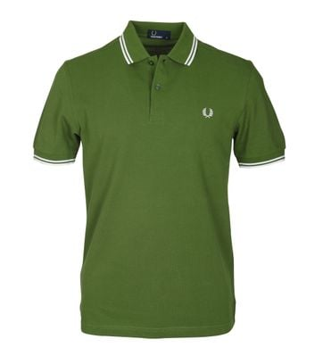 Fred Perry Polo Grün 293