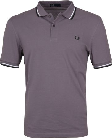 Fred Perry Polo Iced Slate I02