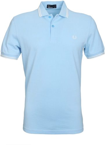 Fred Perry Polo Lichtblauw F81