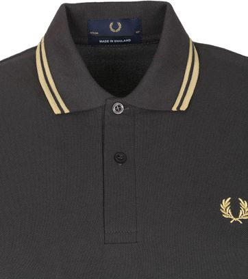 Fred Perry Polo M12 Antraciet