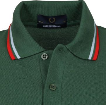 Fred Perry Polo M12 Donkergroen