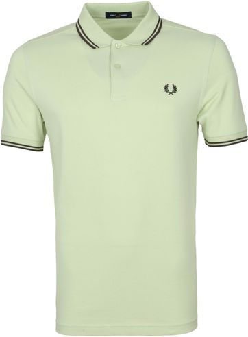 Fred Perry Polo M3600 Lichtgroen