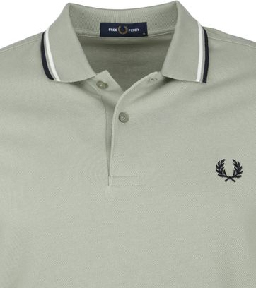 Fred Perry Polo M3600 Zeegras Groen