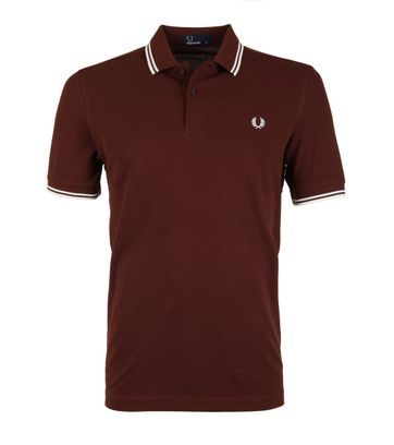 Fred Perry Polo Mahogany