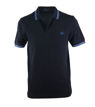 Fred Perry Polo Navy E03