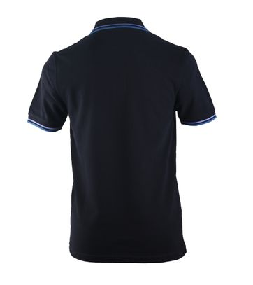 Detail Fred Perry Polo Navy E03