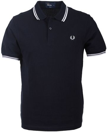 Fred Perry Polo Navy White