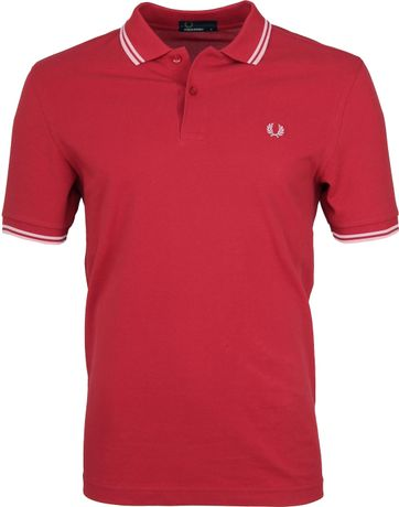 Fred Perry Polo Rood 541