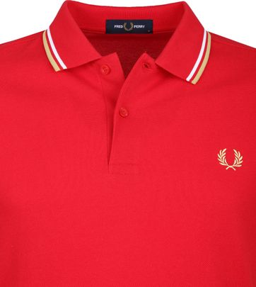 Fred Perry Polo Rood J95