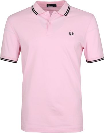 Fred Perry Polo Roze 336