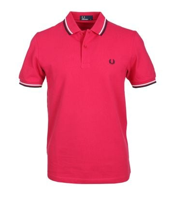 Fred Perry Polo Roze F68