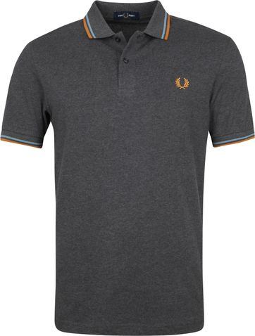 Fred Perry Polo Shirt Grey M3600