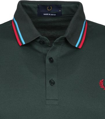 Fred Perry Polo Shirt M102 Dark Green