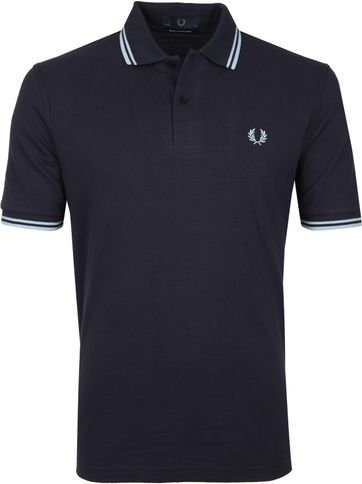 Fred Perry Polo Shirt M12 Dark Blue