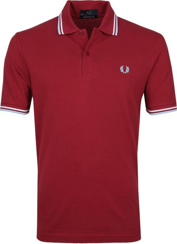 Fred Perry Polo Shirt M12 Red