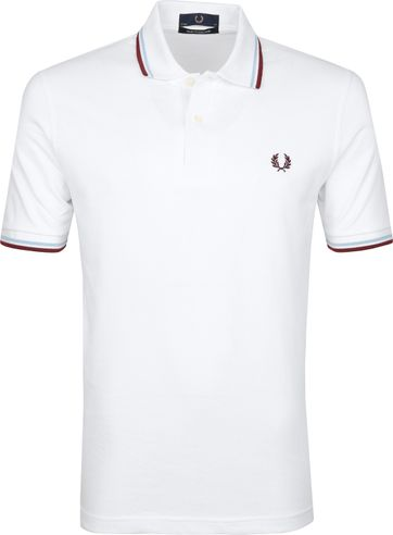 Fred Perry Polo Shirt M12 White