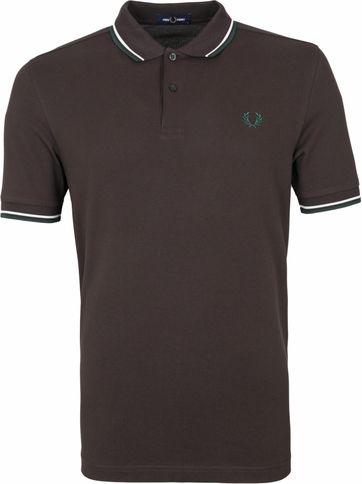 Fred Perry Polo Shirt M3600 Brown