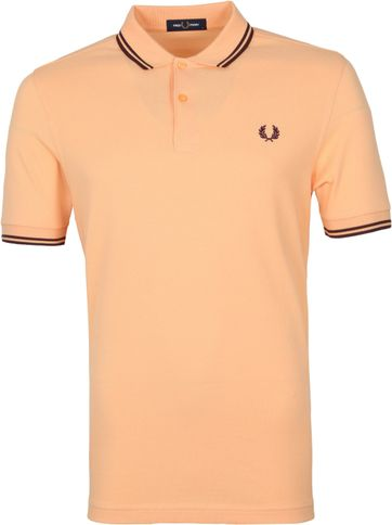 Fred Perry Polo Shirt M3600 Coral Red