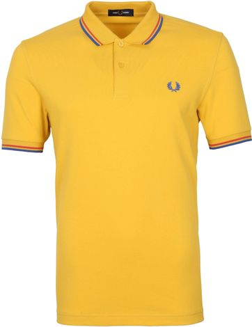 Fred Perry Polo Shirt M3600 Gelb
