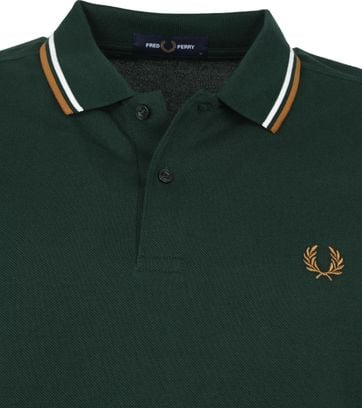 Fred Perry Polo Shirt M3600 Green