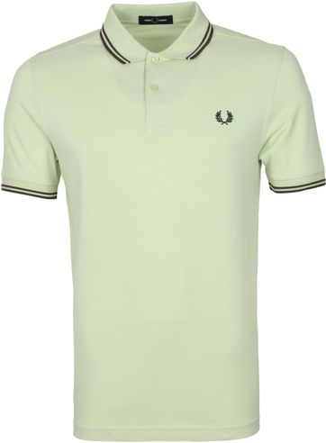 Fred Perry Polo Shirt M3600 Hellgrün