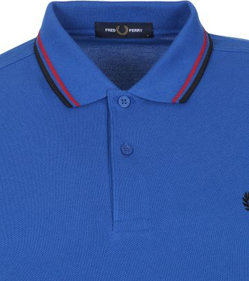 Fred Perry Polo Shirt M3600 Mid Blue