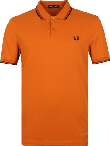 Fred Perry Polo Shirt M3600 Orange