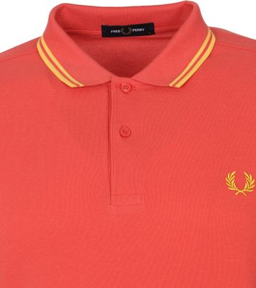Fred Perry Polo Shirt M3600 Summer Rot