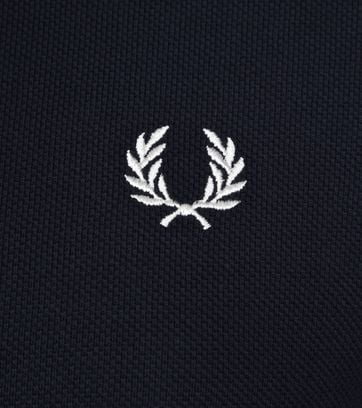 Fred Perry Polo Shirt Navy White