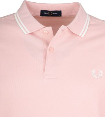 Fred Perry Polo Shirt Pink K23