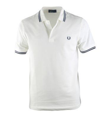 Fred Perry Polo Snow White C84
