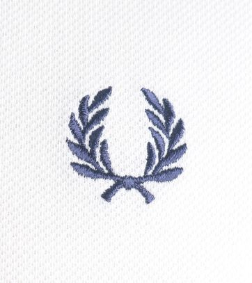 Detail Fred Perry Polo Snow White C84