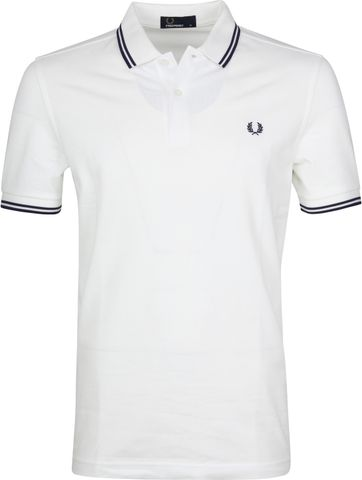 Fred Perry Polo Wit I01