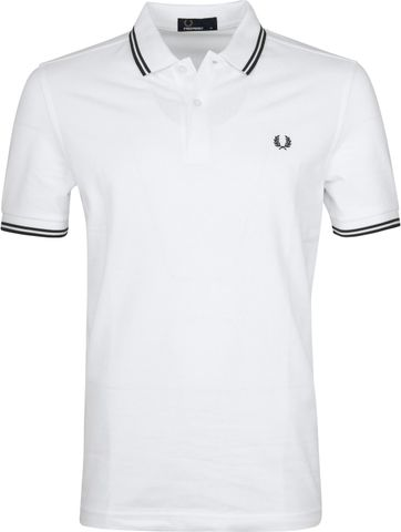 Fred Perry Polo Wit K94