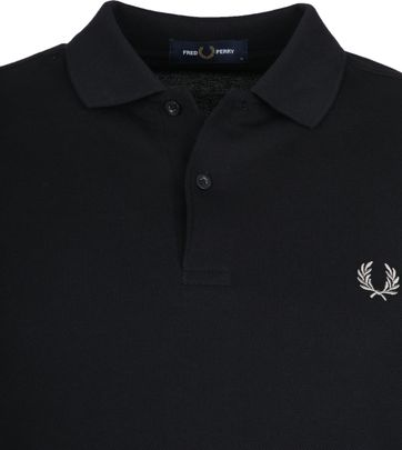 Fred Perry Polo Zwart 906
