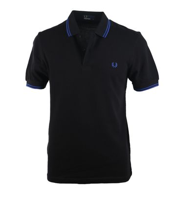 Fred Perry Polo Zwart D73