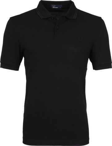 Fred Perry Polo Zwart G32