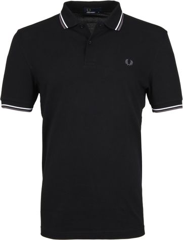 Fred Perry Polo Zwart I04