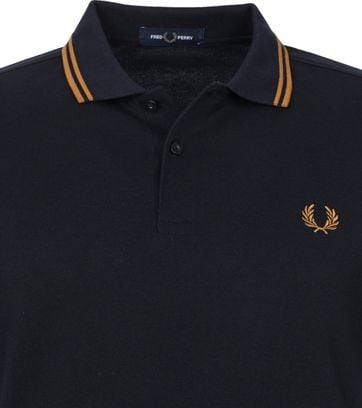 Fred Perry Polo Zwart M3600
