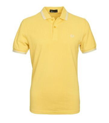 Fred Perry Poloshirt 1964 Yellow